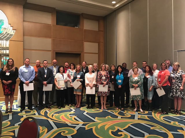 TEDC Presents Economic Excellence Recognition at 2018 Mid- Year Conference