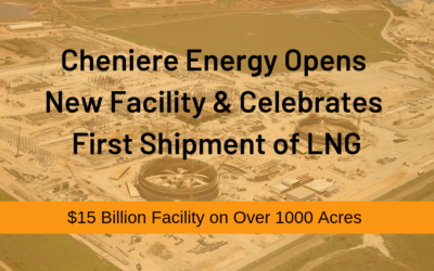 Governor Abbott Attends Celebration Of Cheniere Energy's First Cargo Shipment Of LNG